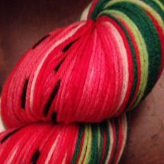 watermelon yarn
