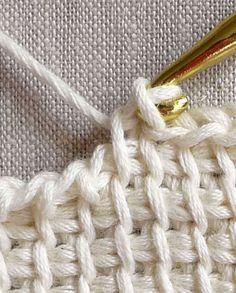 Tunisian CrochetBasics - Crochet Tutorials - Knitting Crochet Sewing Embroidery Crafts Patterns and Ideas!