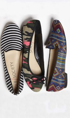 Slip on ... Fun patterns!