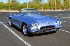 1958 CHEVROLET CORVETTE CUSTOM CONVERTIBLE - Barrett-Jackson Auction Company - World's Greatest Collector Car Auctions