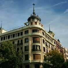 Stop it #Madrid you're ridiculous. #architecture #Spain