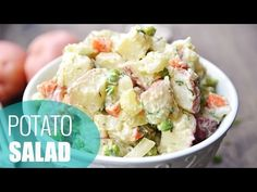Easy Vegan Potato Salad Recipe - Fablunch