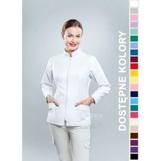 Odzież medyczna dla kobiet. | Bluza damska kolorowa 1509 - z pewnością będzie to strzał w 10-tkę dla pielęgniarek i lekarzy. | Sklep internetowy Dersa |