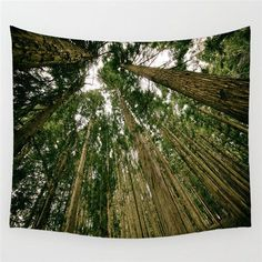 Forest/Flower Tapestry Wall Hanging