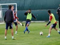 Kasımpaşa Spor Toto Süper Lig'in 31. haftasında 27 Nisan 2014 günü oynacağı Medical Park Antalyaspor maçı antrenman raporu