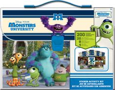 Monsters University - My Sticker Activity Kit