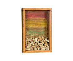 Porta-Rolhas Frankie  Medidas Largura: 30 cm x Altura: 47 cm x Profundidade: 10 cm
