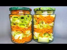 Mason Jars, Muffin, Canning, Bude, Zucchini, Youtube, Food And Drinks, Mason Jar, Muffins
