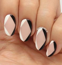 Here again we can see geometric shapes and clear lines. In this case, black color is real refreshment.