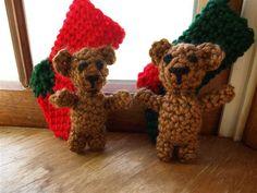 tiny teddy bears - crochet pattern