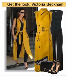 A fashion look from April 2017 featuring Victoria Beckham coats, Dolce&Gabbana vests and Maison Margiela pants. Browse and shop related looks. Street Hijab Fashion, Abaya Fashion, Kimono Fashion, Love Fashion, Fashion Looks, Latest African Fashion Dresses, Latest Fashion Trends, Viktoria Beckham, Victoria Fashion