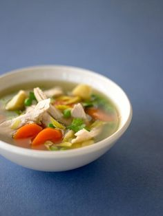 Chicken & Vegetable Soup | Chicken Recipes | Jamie Oliver Recipes