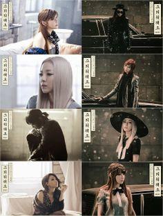 """2NE1 (투애니원) releases """"Missing You"""" (그리워해요) MV #YG"""