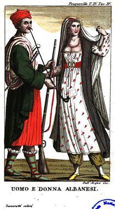 uomo e dona albanese