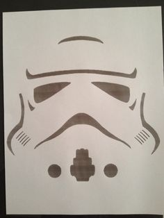 Stormtrooper Template - for balloons?