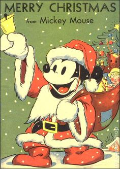 mickey mouse merry christmas -