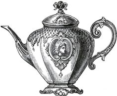 Victorian Teapot Image
