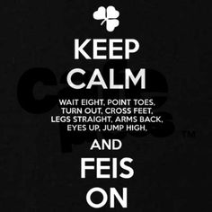 KEEP CALM FEIS ON T on CafePress.com