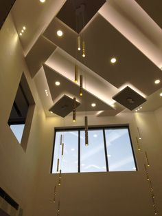 Drawing Room Ceiling Design, House Ceiling Design, Bedroom False Ceiling Design, House Design, Design Bedroom, Office Interior Design, Interior Design Studio, Fall Celling Design, High Ceiling Living Room