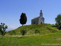 Храм Святого Николая на острове Враньина на Скадарском озере