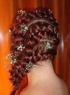 country wedding braids?