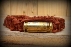 Bullet Jewelry mens leather bracelet Bullet by LeighBeeJewelry, $14.95