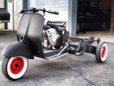 Vespa Trike …