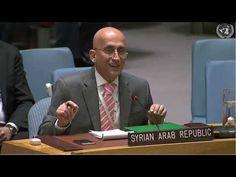 رد ممثل الجمهورية العربية السورية على ممثل قطر في مجلس الأمن-مكافحة تمويل الإرهاب - YouTube Iran