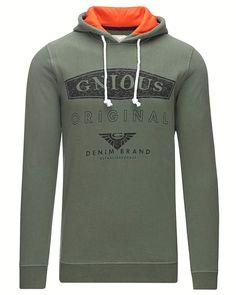 Gnious Oliver – Sweatshirt – Army
