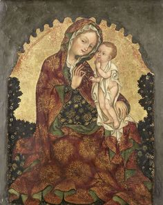 Madonna van de nederigheid, attributed to Giovanni da Francia, 1429 - 1439
