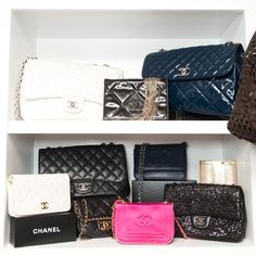 Real Housewife of Beverly Hills Kyle Richards Chanel bag collection photographed by The Coveteur