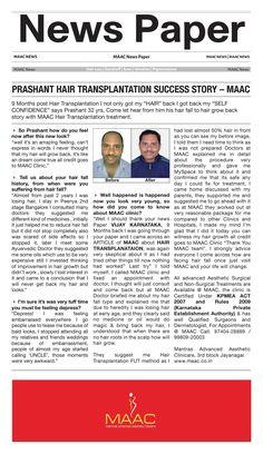 Maac news paper ad