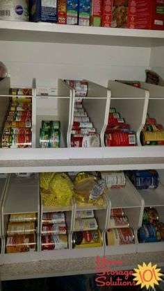 build a rotating canned food shelf self prepared food storage rh pinterest com