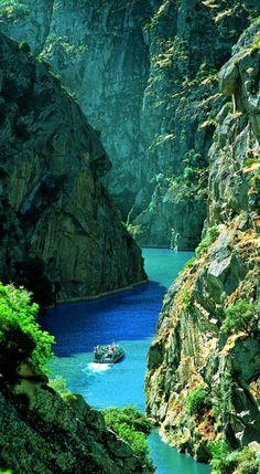 Douro River in Northern Portugal