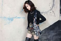 Moon Chae-won for Style Innerve's F/W 2013 Campaign