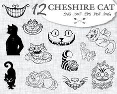 Cheshire Cat Svg Cheshire Cat Alice Svg Wonderland Svg Cheshire Svg Silhouette Svg Che Cheshire Cat Tattoo Cheshire Cat Smile Alice And Wonderland Tattoos