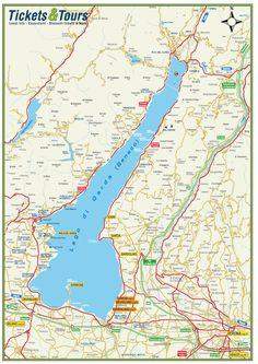 Image result for map of lake garda