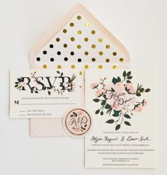 13 Unique Envelope Inserts | Wedding Stationery | Bridal Musings Wedding Blog 4
