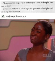 Just think of what Seamus had to go through all year that year when Dean went missing