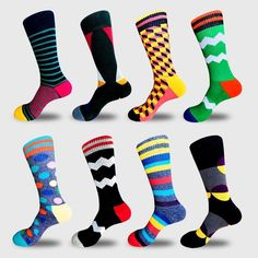 Rainbow Island Socks Mens Womens Personality Casual Socks Custom Sports Socks Creative Fashion Crew Socks