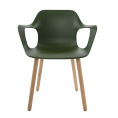 Vitra Hal Armchair In Oak And Ivy | Chairs | Chairs & Stools | Furniture | Heal's