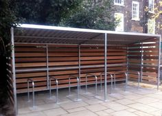 The Timber Grasmere Cycle Shelter