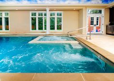 Wilmette, IL Indoor Swimming Pool and Spa