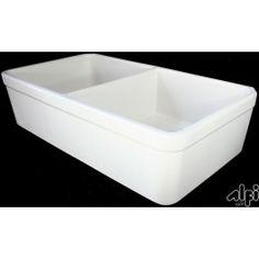ALFI AB512 Fireclay Farm Sink | Discount Plumbing Supplies | Goedeker's
