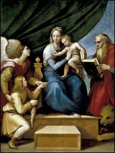 La Virgen del Pez (Rafael)