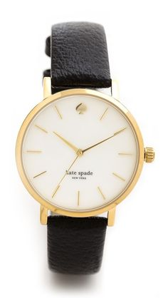 Kate Spade New York 					 					 						Classic Metro Watch #currentlyobsessed
