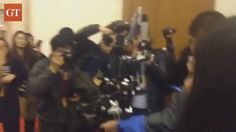 【Video】Multi-device steadicam ready to live stream upcoming #TwoSessions.  Video: Courtesy of Zhang Ye
