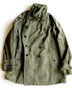 1955 Vintage french army motorcycle jacket