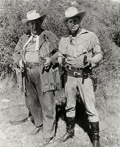 """The Adventures of Wild Bill Hickok starred Guy Madison as the legendary Old West lawman (in real life, also a gunfighter) Marshal James Butler """"Wild Bill"""" Hickok, and Andy Devine as his comedy sidekick, Jingles P. Jones. Devine and Madison also portrayed their roles on radio at the same time."""