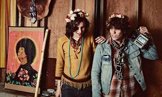 For the psych of it … Foxygen. Photograph: Angle Ceballos